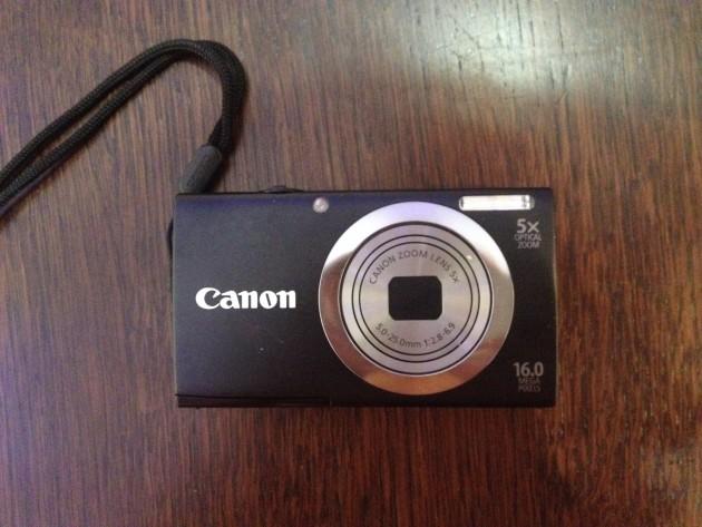В Харькове найден фотоаппарат Canon. Парк Горького